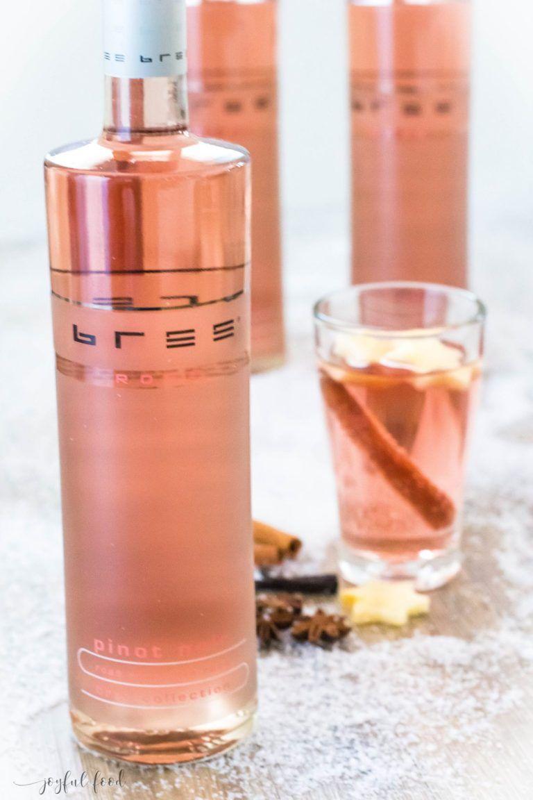 Rosé Glühwein fein und edel mit Bree Wein | Joyful Food #sparklinglemonade