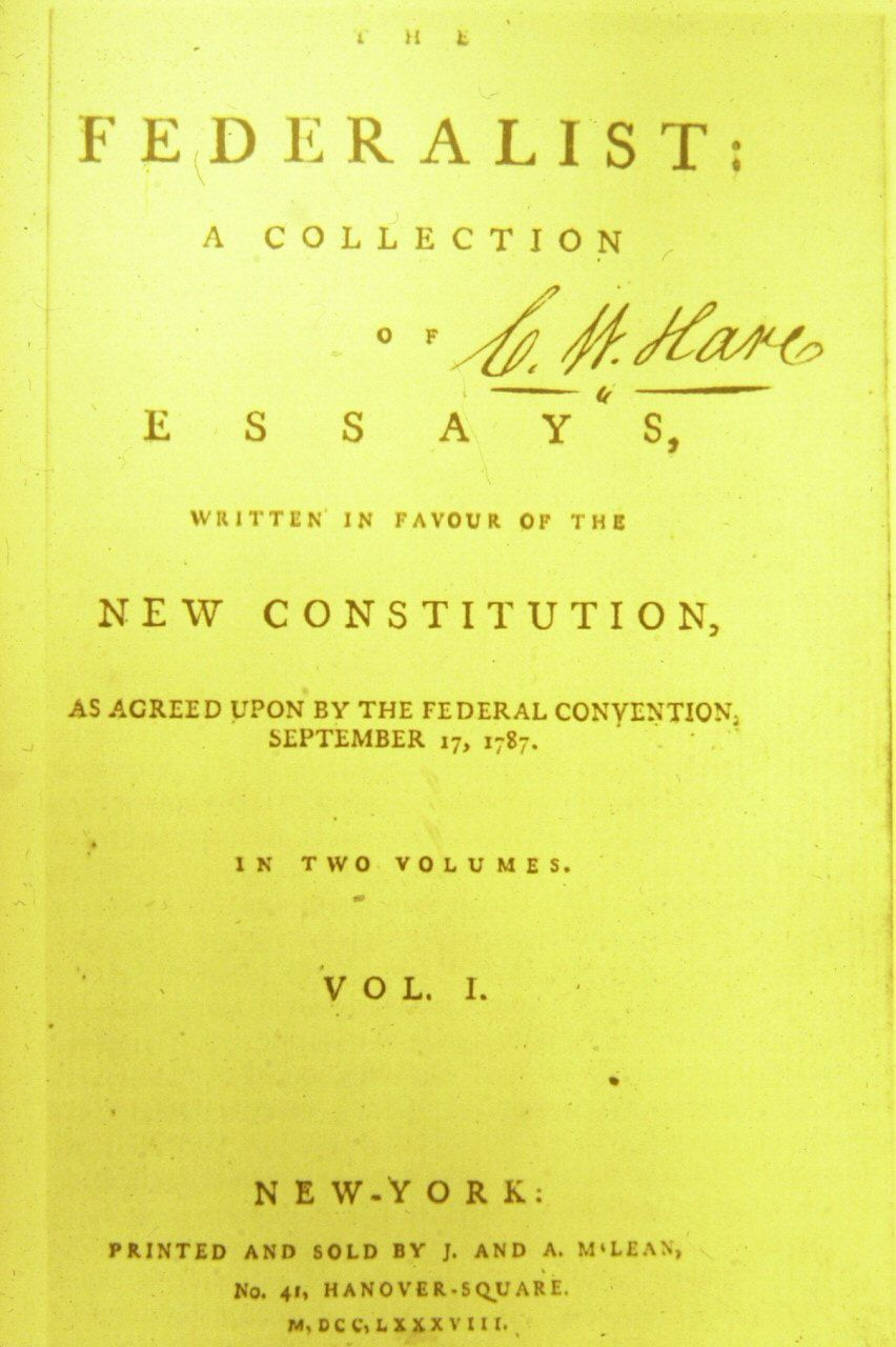 federalist paper writers