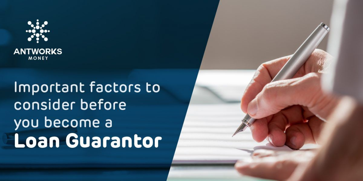 Important Factors To Consider Before You Become A Loan Guarantor Loan Personal Loans How To Become