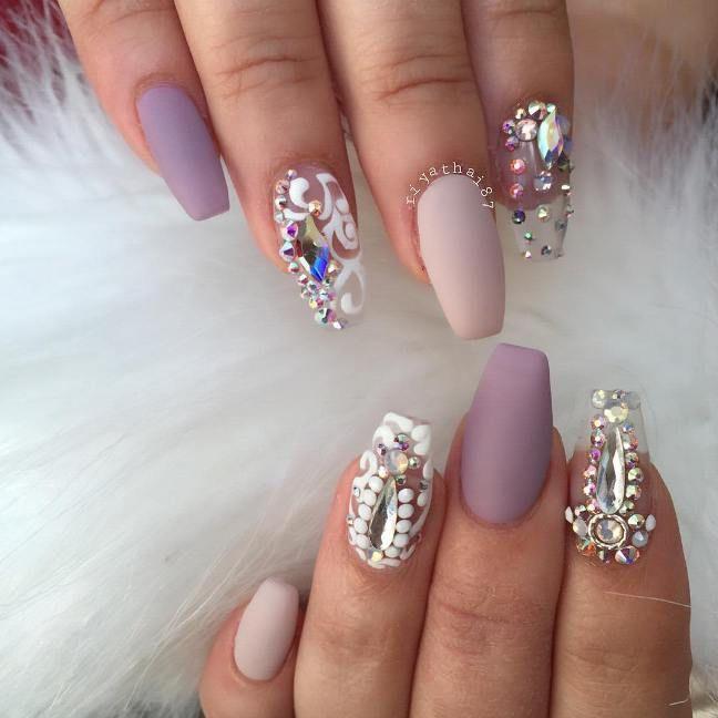 Pretty Coffin Ballerina Nails You Will Love