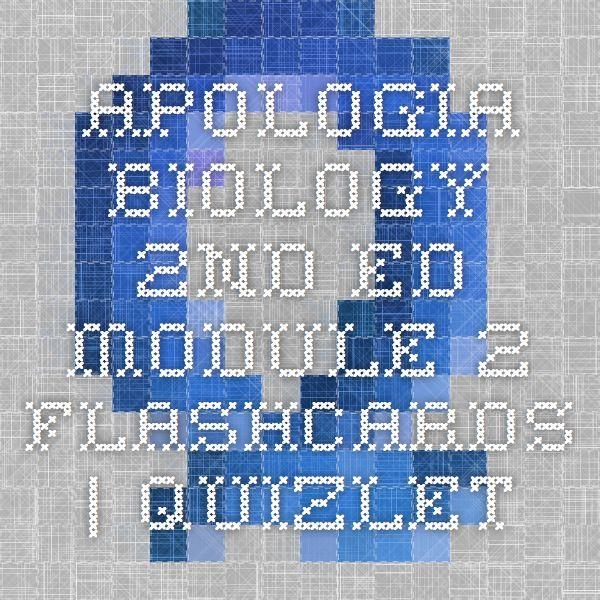 Apologia Biology 2nd Ed Module 2 Apologia Biology Apologia Biology
