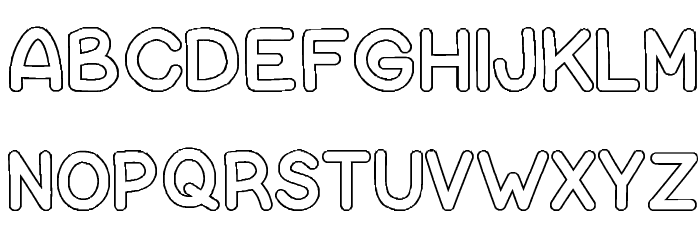 bubble letters lowercase