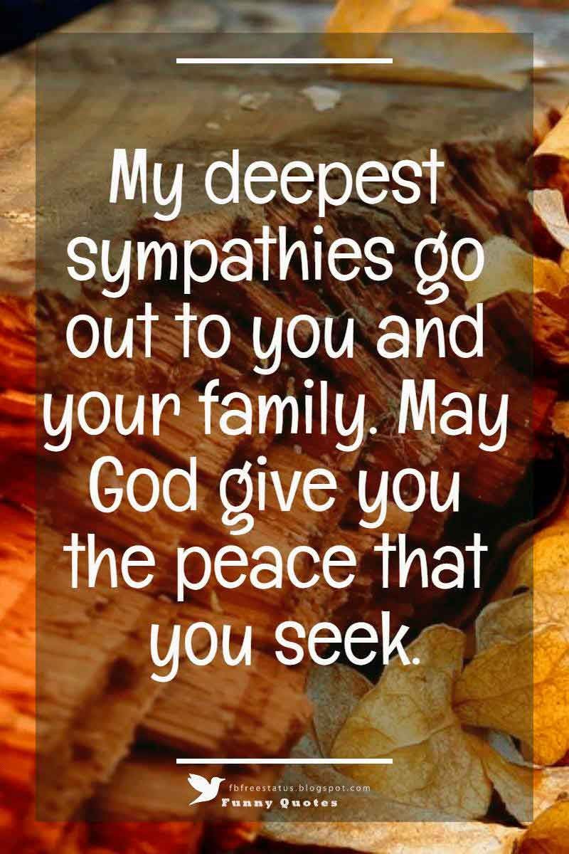 Condolences Messages for your Sympathy Card | Deepest ...