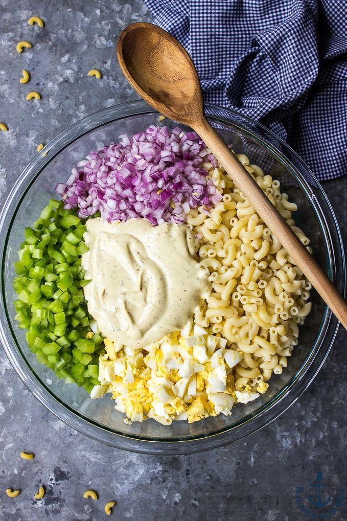 Salade de macaroni facile de Gram,  #facile #Gram #Macaroni #salade #Saladedemacaronifacile
