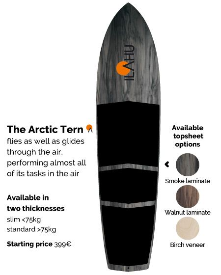 Ilahu boards are designed and made in Finnish Lapland with love and respect for crafting natural materials.