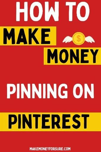 How To Make Money Pinning on PINTEREST without a b...