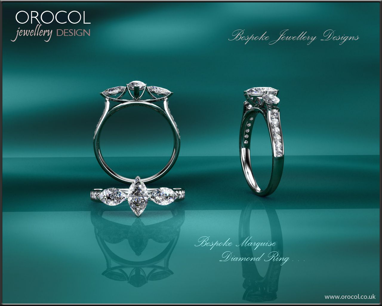 Marquise diamond ring design by orocol orocol jewellery