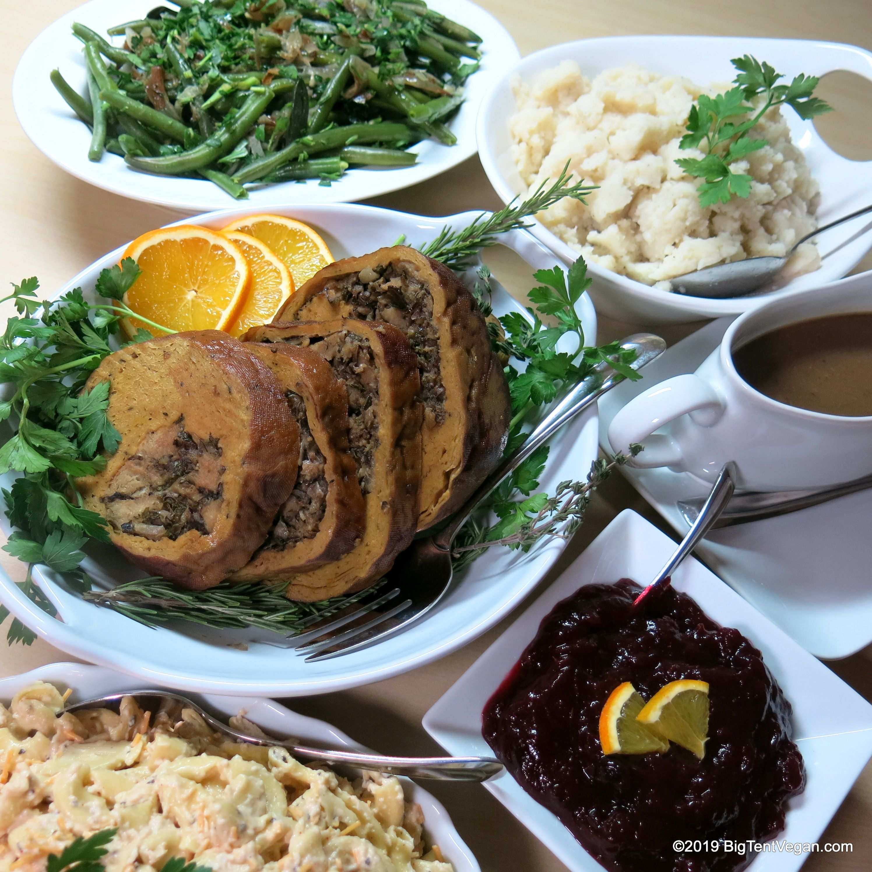 vegan Holiday Meal for 4 from wholefoods (Laguna Niguel