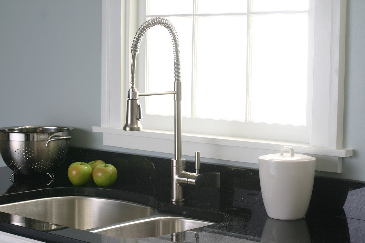 Premier 120334LF Essen Kitchen Faucet, For A More Modern Look, Leaning  Toward This