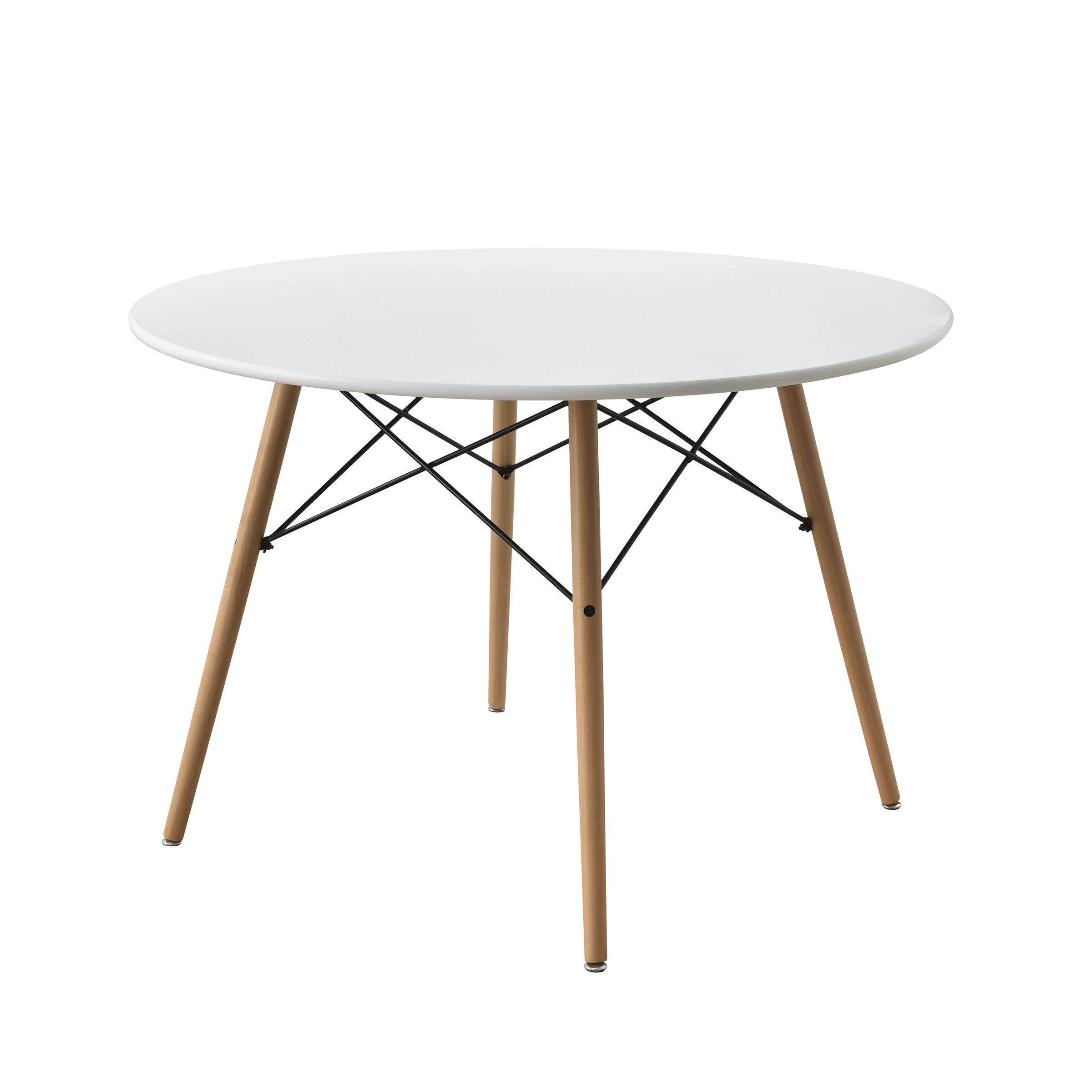 Mainstays 42 Round Modern Dining Table Mid Century Style Beech And White Color Walmart Com Midcentury Modern Dining Table Modern Dining Table Dining Sets Modern [ 2400 x 2400 Pixel ]