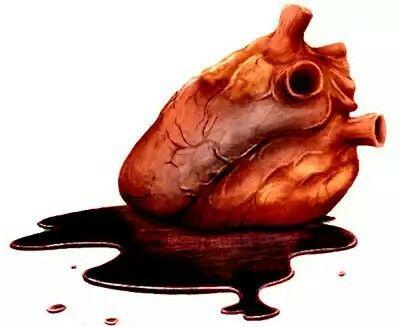Stop my bleeding Heart.