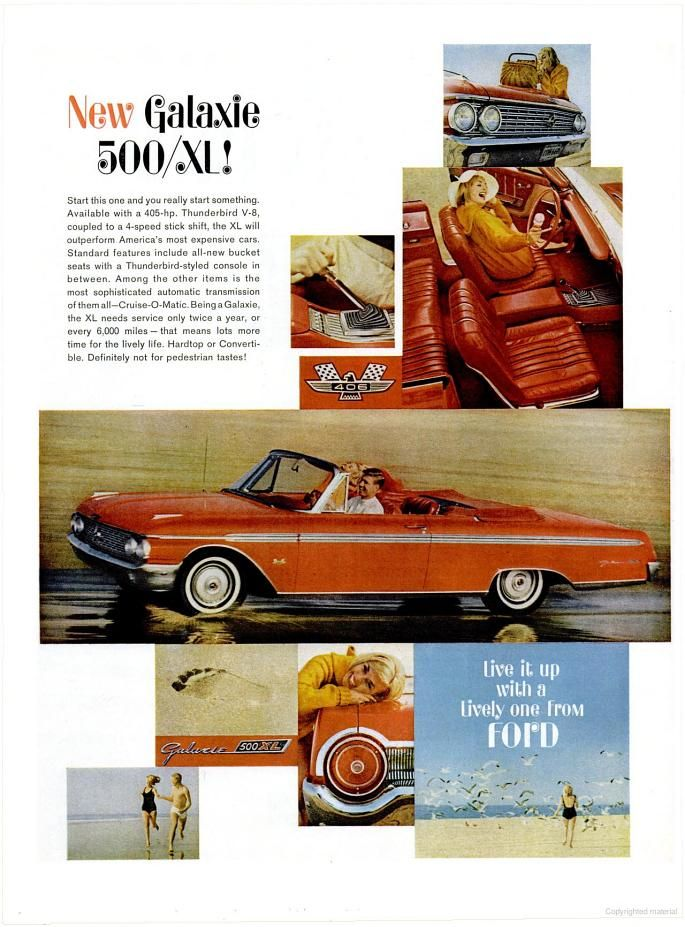 1962 Ford Galaxie 500/XL