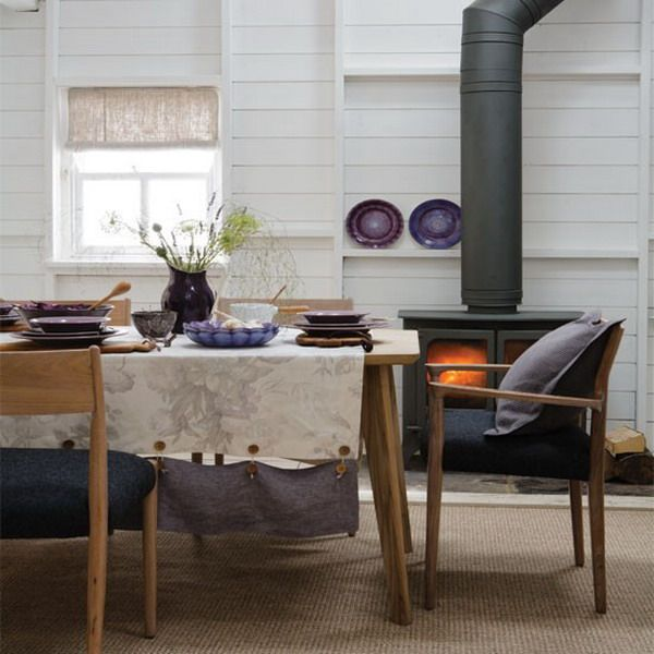 32 More Stunning Scandinavian Dining Rooms: Country Dining Rooms, Country