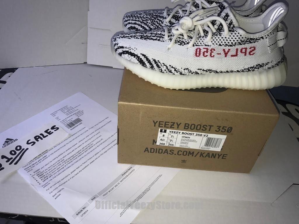 adidas yeezy boost 41 zebra