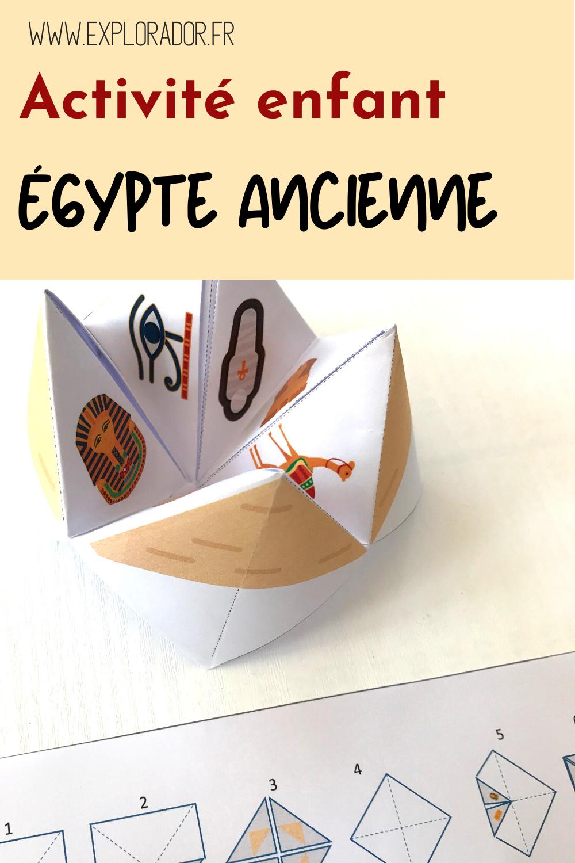Une Cocotte En Papier Sur L Egypte Ancienne à Télécharger Explorador égypte égypte Ancienne Pour Les Enfants Egypte Ancienne