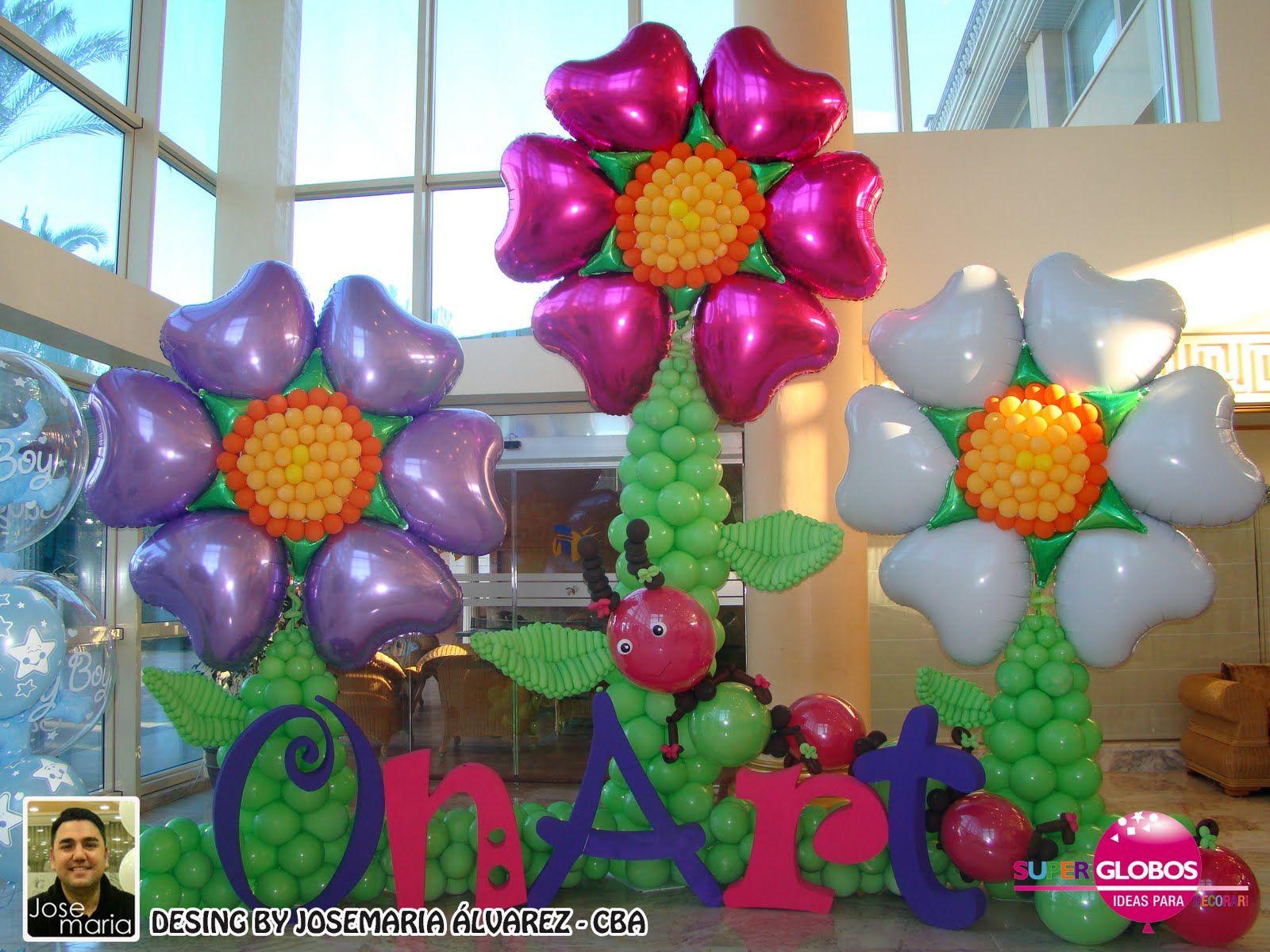 en super globos realizamos con globos para todo tipo de eventos y fiestas