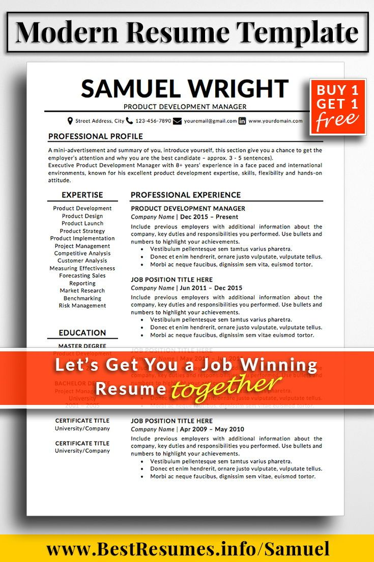 Project Summary Template Word Resume Template Samuel Wright