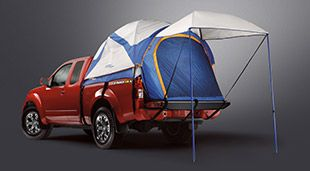 Nissan Frontier® King Cab shown in Lava Red with Hatch Tent. & Truck bed tent! | Nissan Fronties | Pinterest | Truck bed and Nissan