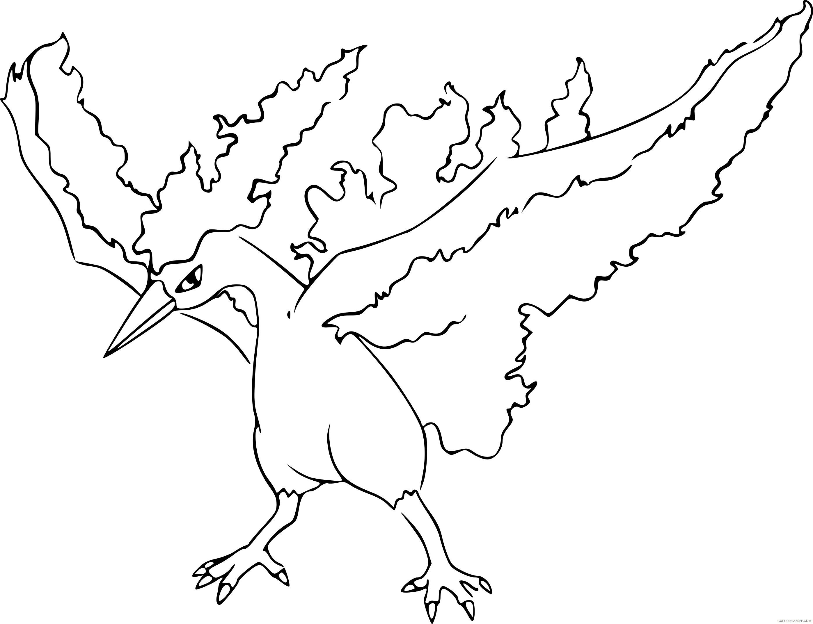 Pokemon Moltres Coloring Pages Through The Thousands Of Photographs On The Web Concerning P Cartoon Coloring Pages Pokemon Coloring Pages Love Coloring Pages