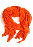 Lark Crinkle Scarf: Orange. Love it.