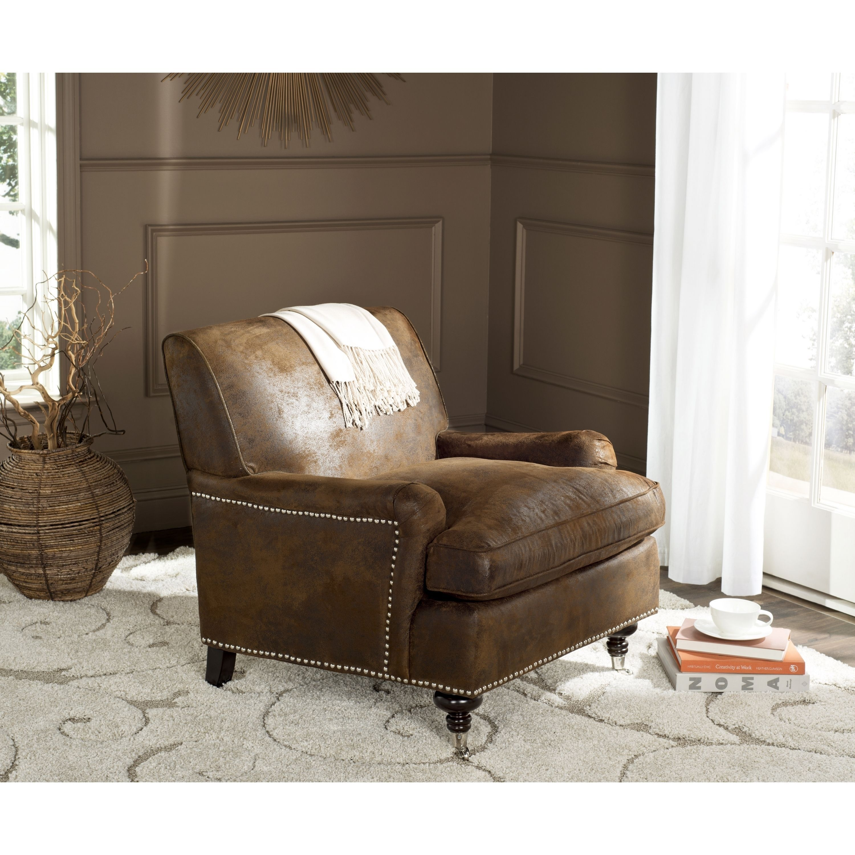 giantex upholstered in sofa fabirc livings item home single furniture room ergonomic from chair accent arm modern chairs gray living