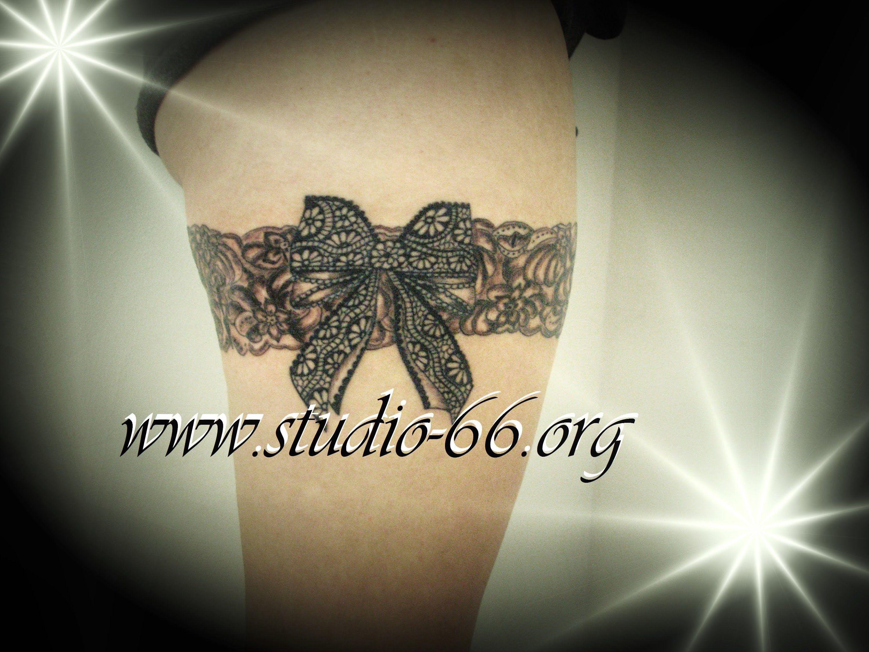 Jarretiere Dentelle Tatouage 146292965524 Tattoo Tatouage