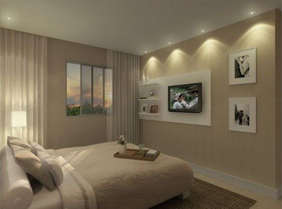 Cores de tintas para paredes de quartos quarto  ~ Cores Apropriadas Para Quartos