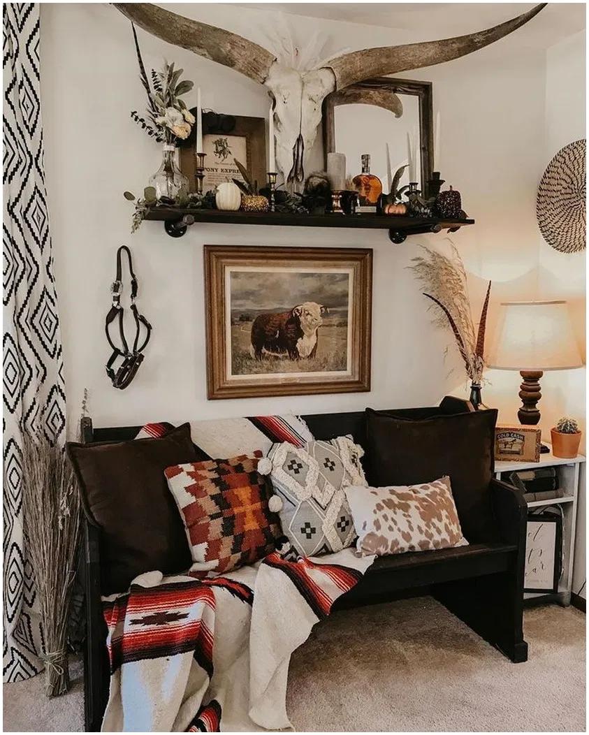 64 Smart Creative Diy Rustic Farmhouse Decor Ideas That You Will Love 1 Rusticwesterndec Western Bedroom Decor Southwestern Home Decor Western Home Decor