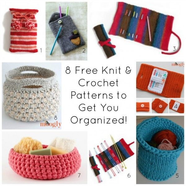 Get Organized with Crochet and Knit Patterns in 2016 | Tejido