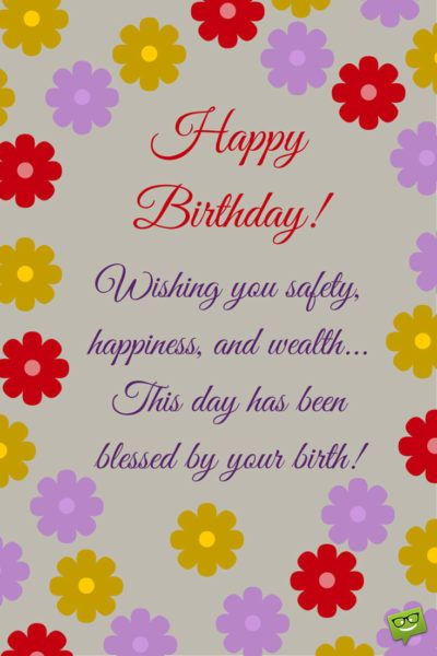 Wishes That Rime Happy Birthday Poems Happy Birthday Ecard