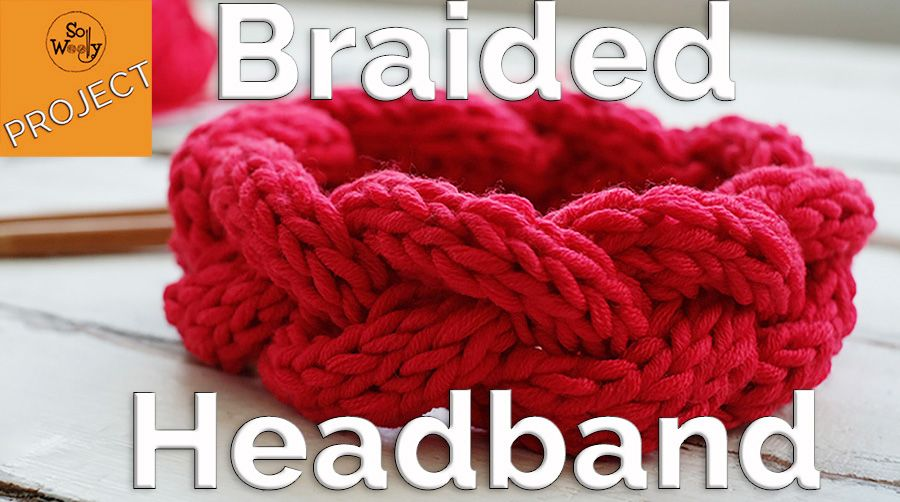How to knit a braided headband for beginners step by step ...