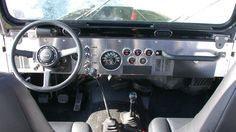 Jeep Yj Dash Conversion My Yj Cj Dash Build Yj S
