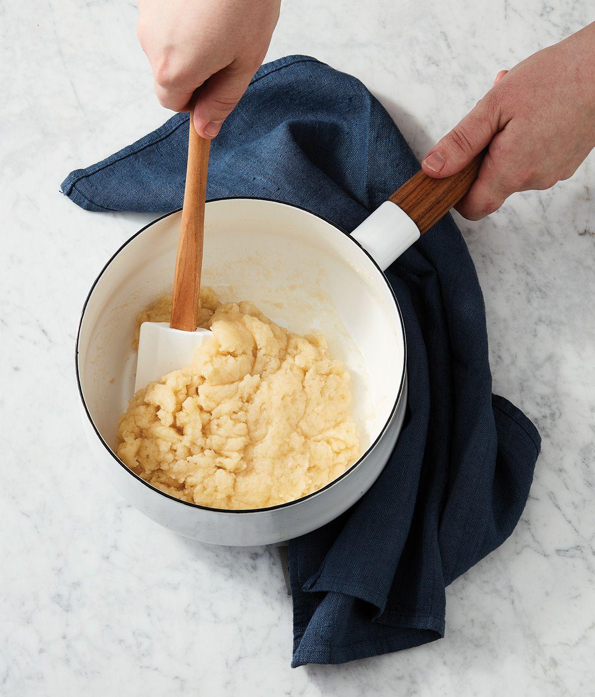 Pâte à choux perfected King arthur flour, Pressure