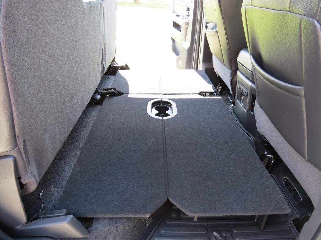 2001 chevy silverado rear seat fold down