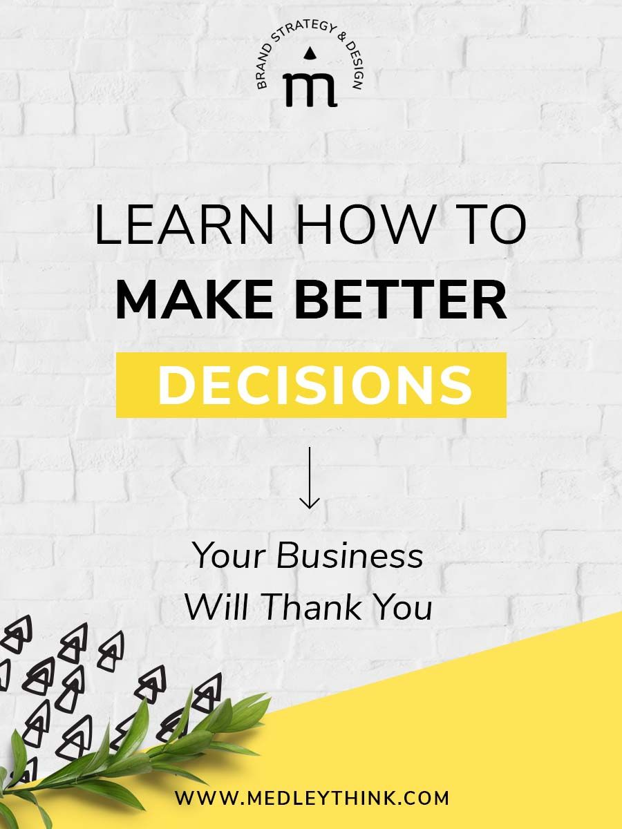 Watch How to Make Better Decisions video