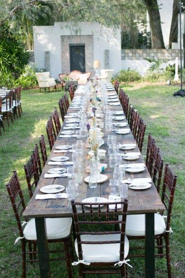 Rustic Eclectic Garden Wedding