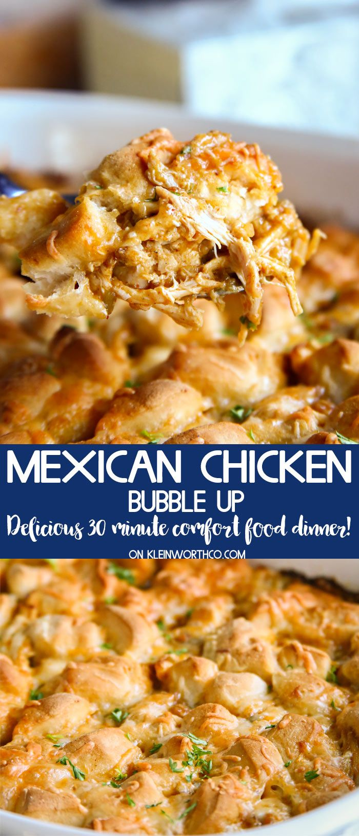 Need a quick easy dinner mexican chicken bubble up casserole is a need a quick easy dinner mexican chicken bubble up casserole is a quick 30 minute chicken dinner recipe that is so easy to make perfect comfort forumfinder Images