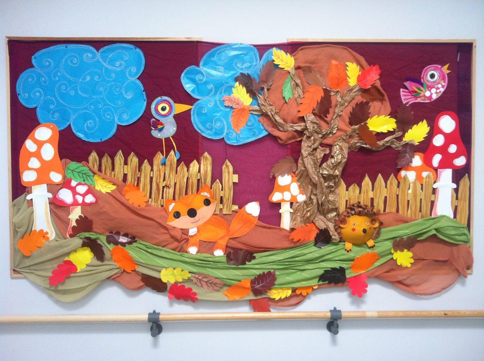 Dekoracja jesien przedszkole pinterest oto o for Decoracion otono infantil