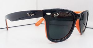 New Special Edition Rayban Wayfarer Sunglasses Black Orange Rb2140 Wayfarer Sunglasses Black Wayfarer Sunglasses Ray Ban Sunglasses Wayfarer