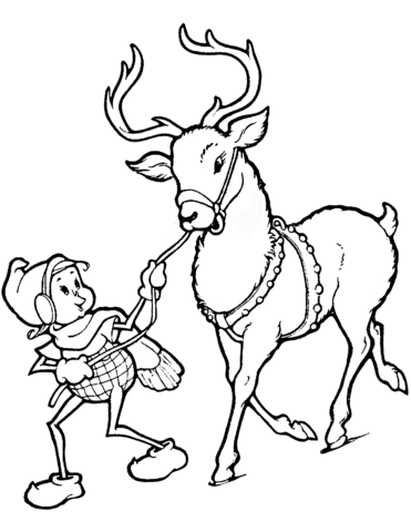 Caribou Coloring Page Coloring Pages Caribou Free Printable Coloring Pages