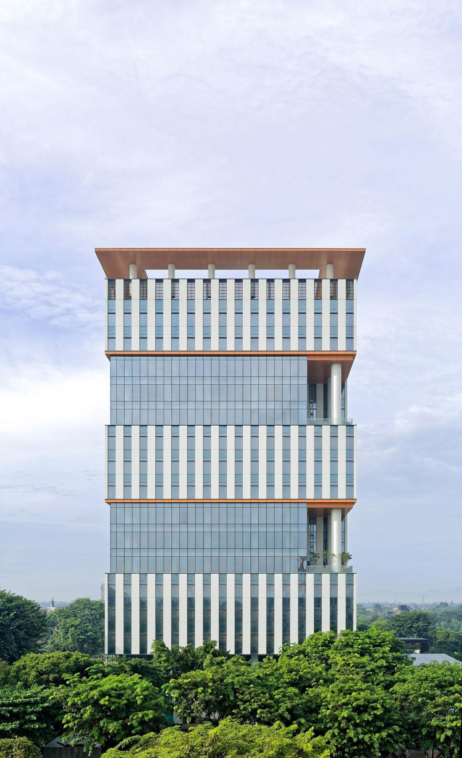 tower 9 by broadway malyan in jakarta indonesia urban