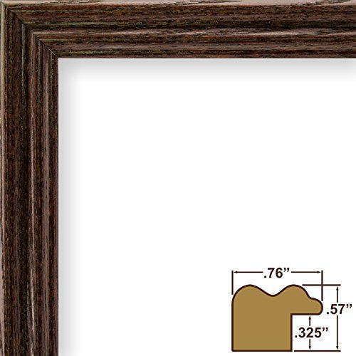 24x32 Picture Poster Frame Wood Grain Finish 75 Wide Cherry Red