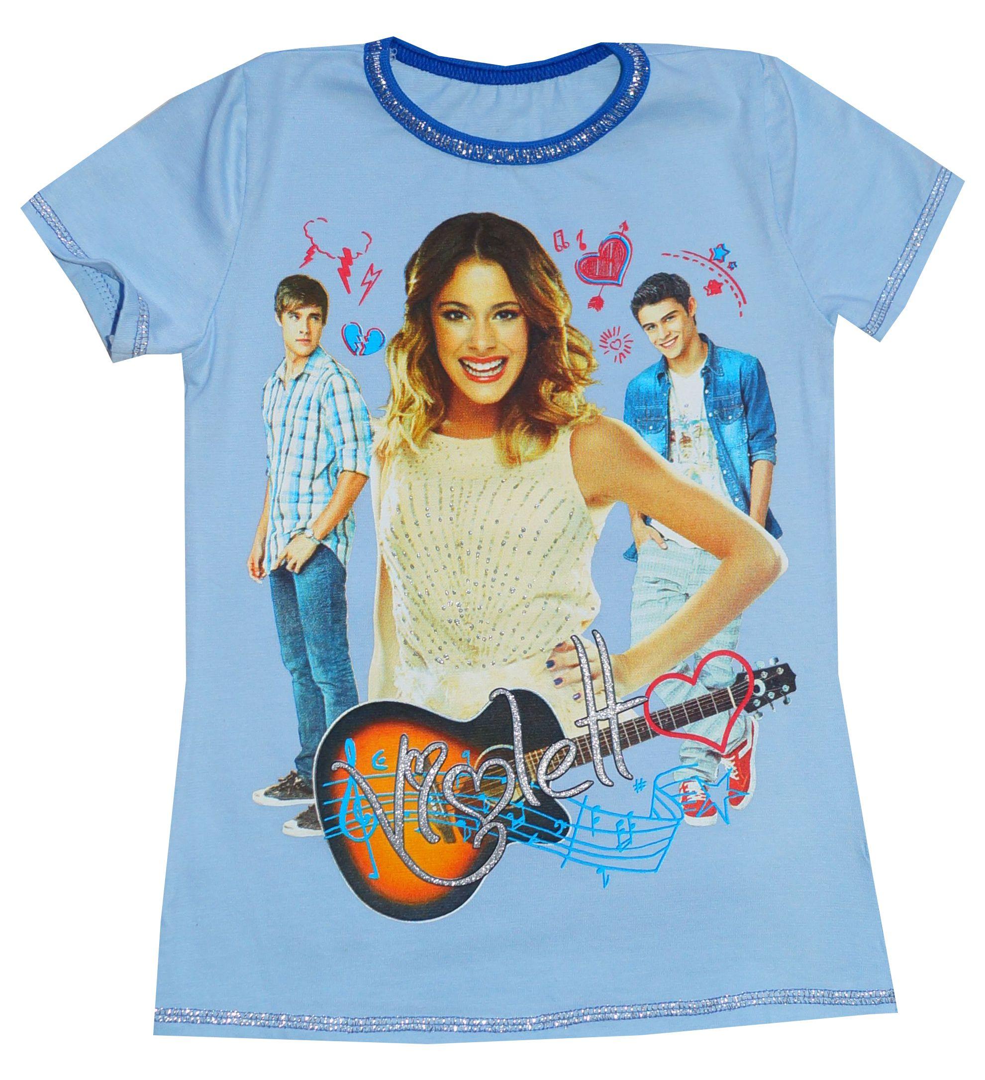 T Shirt Koszulka Violetta Blue Shirts Short Sleeve Dresses T Shirt