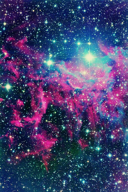 You Pink Glitter Blue