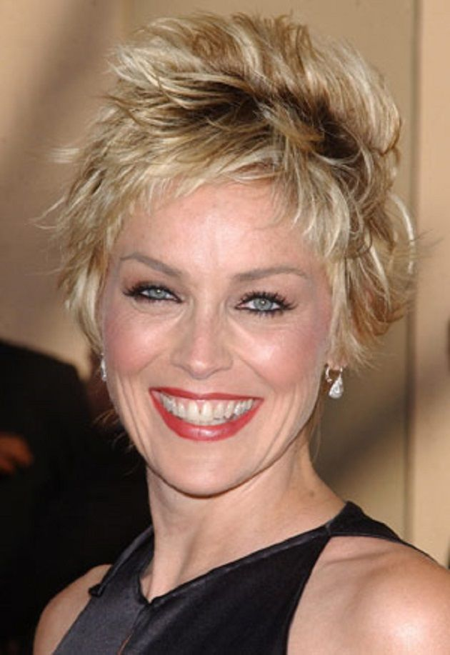SHARON STONE Makeup By Billy B