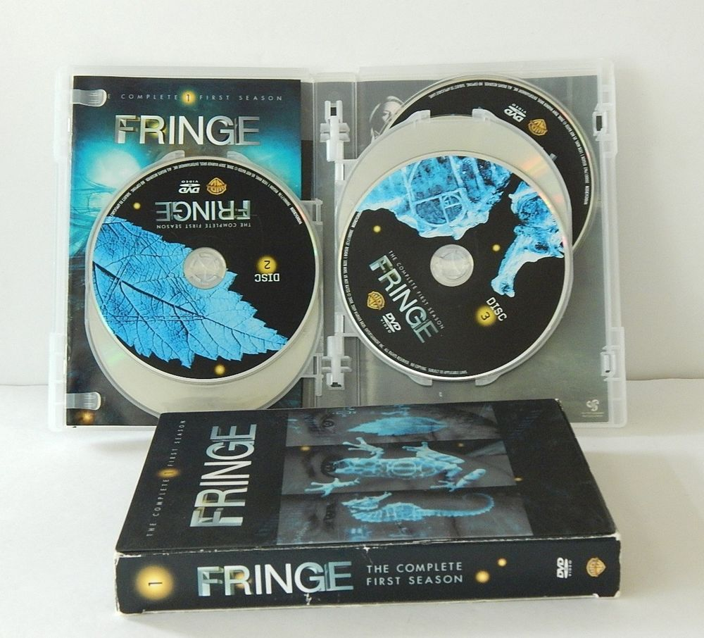 FRINGE Complete First Season 1 on DVD Science Fiction TV Show Box Set 7 Discs