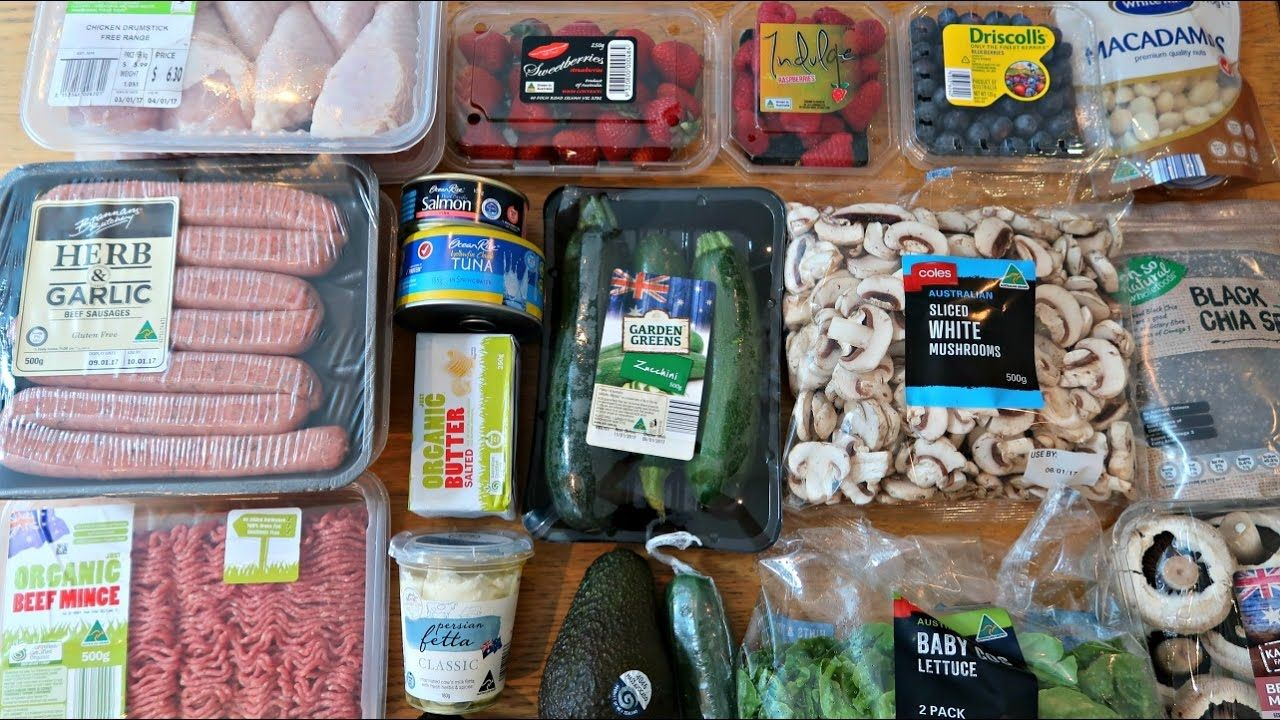 1st Grocery Haul For 2017 Low Carb Keto Diet Foods