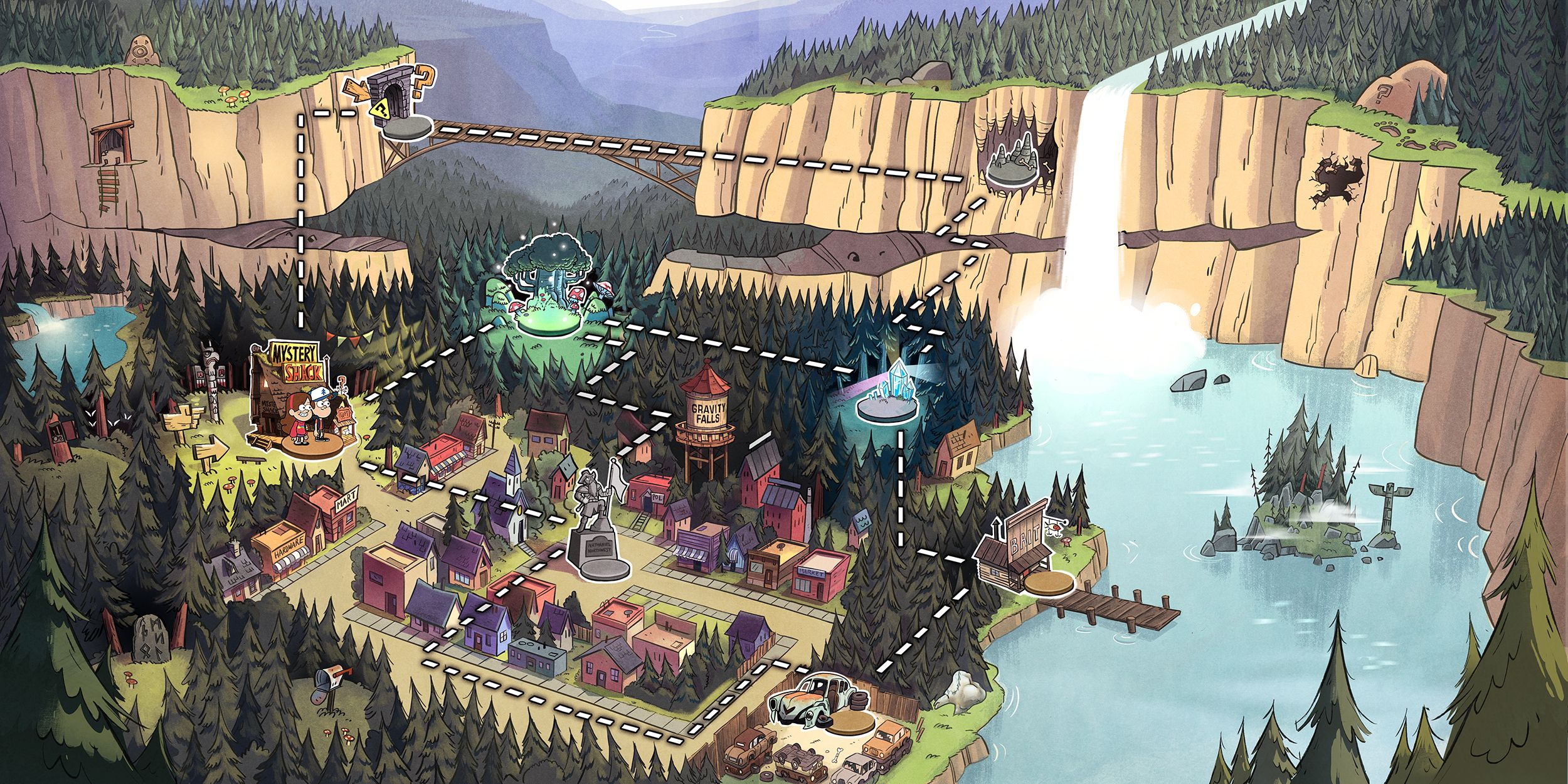 20 gravity falls hd wallpapers backgrounds wallpaper abyss
