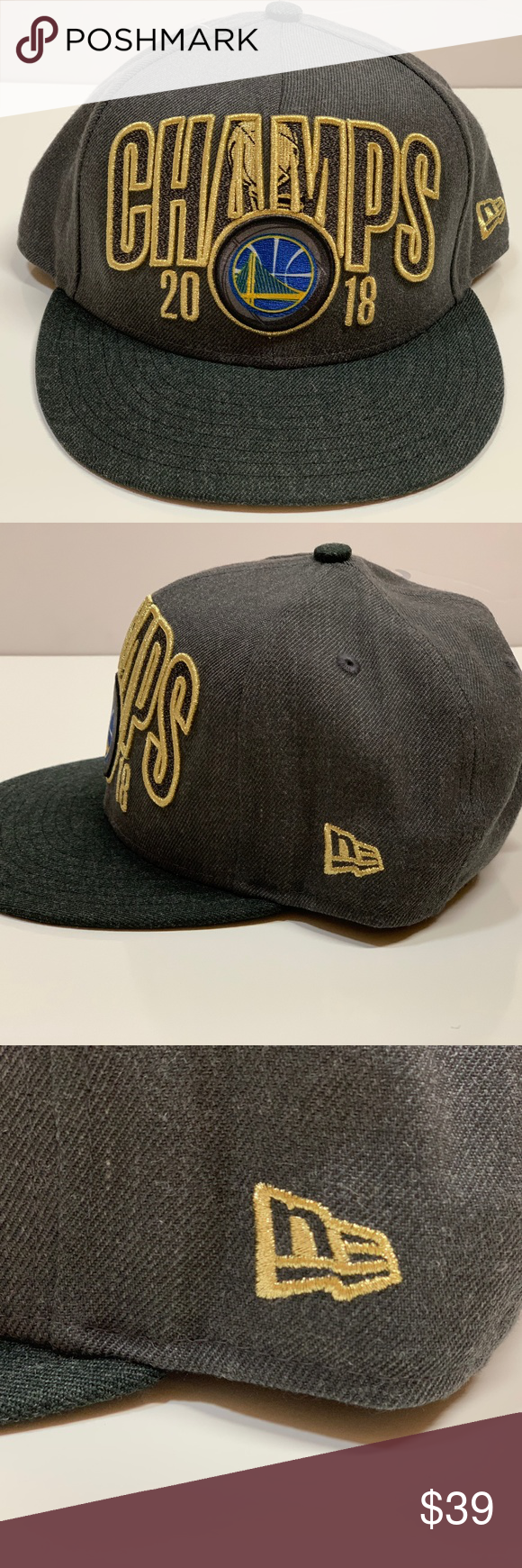 8803a7e9ce6a2e New Era Golden State Warriors Champs 2018 Snapback Brand New with Tags!!!  New