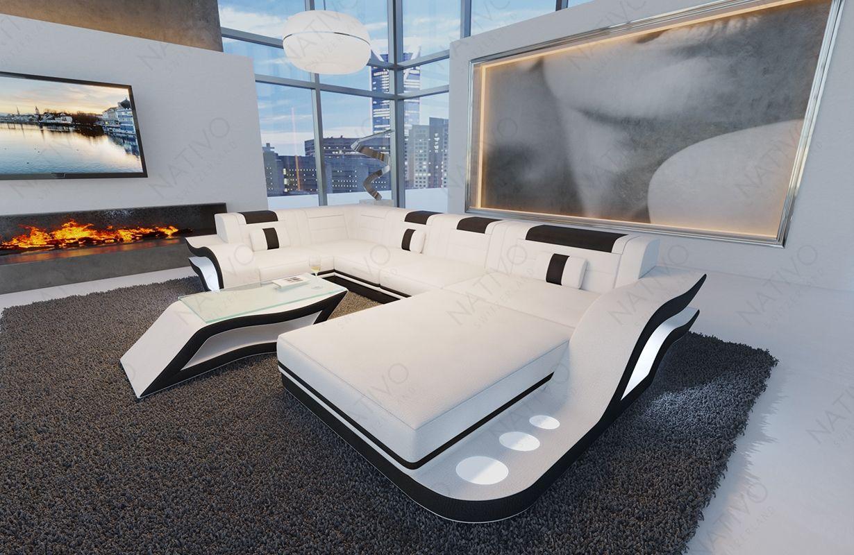 Ledersofa Hermes Bei Nativo Mobel Oesterreich Gunstig Kaufen Sofa Design Designer Bett Sofa